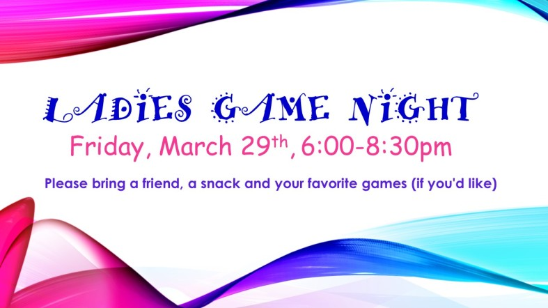 Ladies Game Night