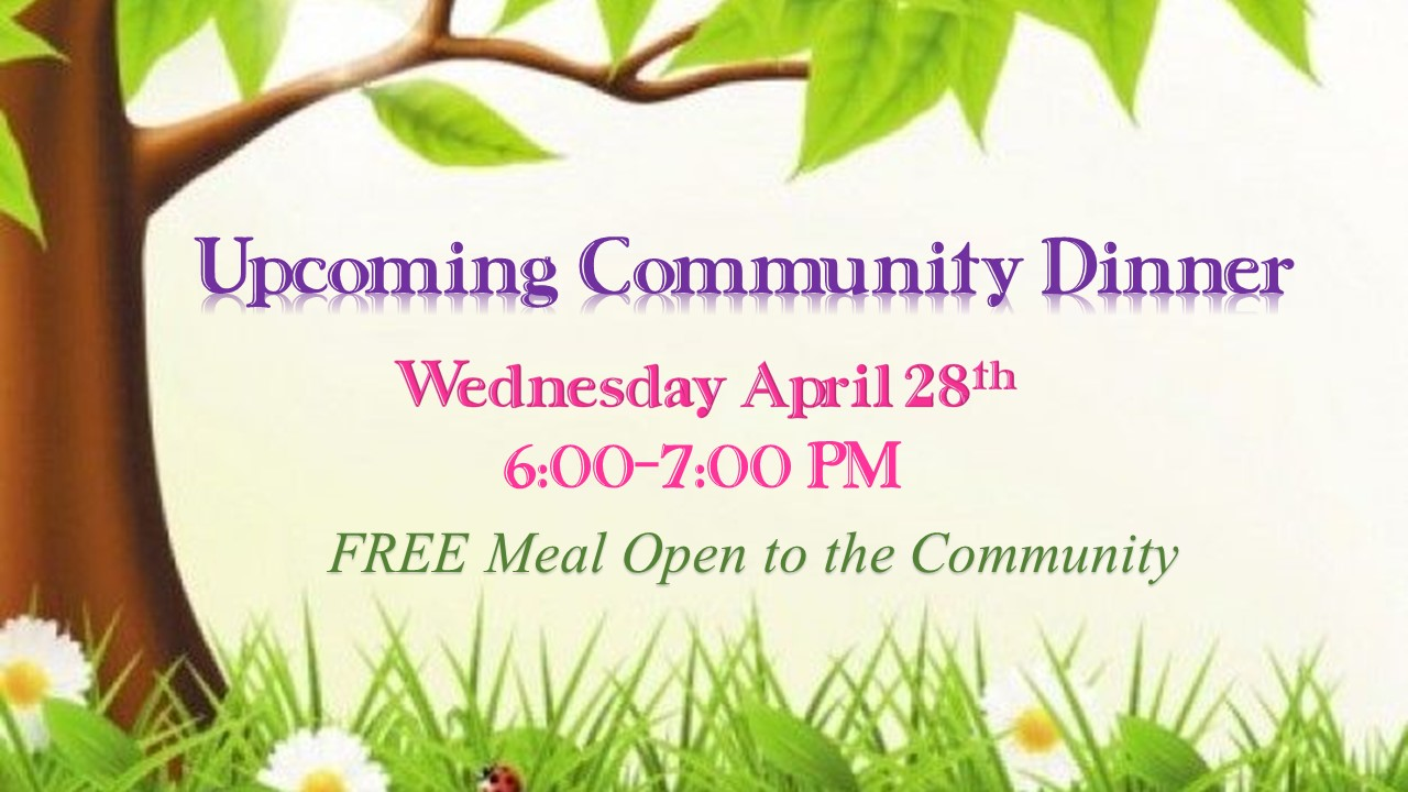 Community Meal 4-28-2021